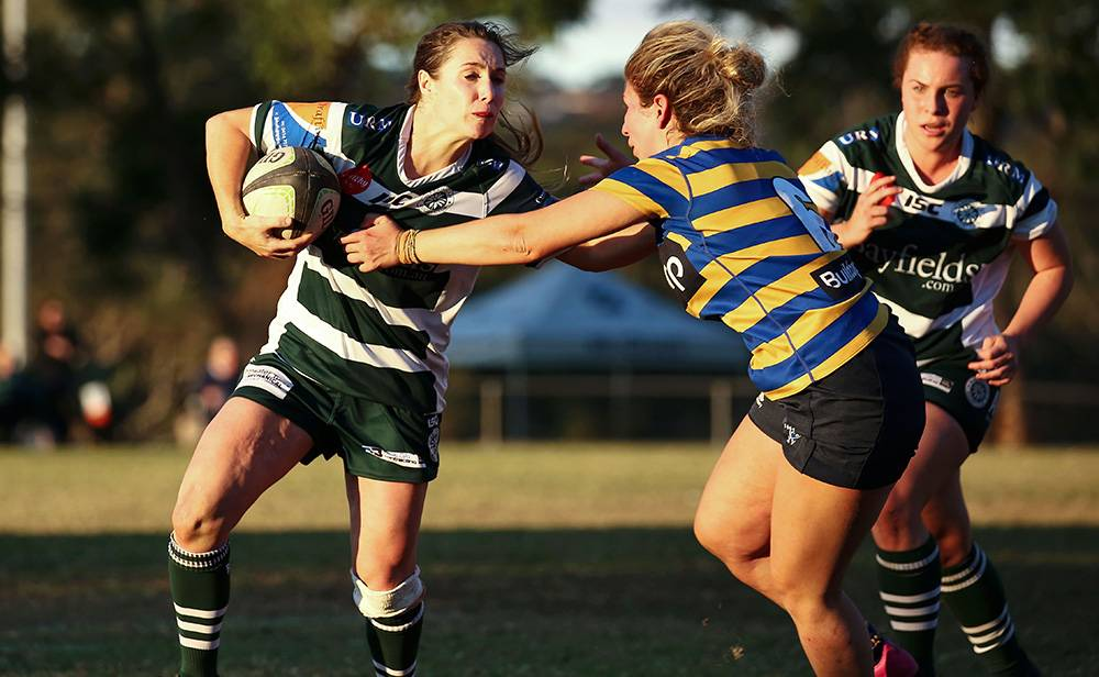 STAR RECRUIT: Mardi Watts, pictured playing for Warringah, will line up for the Bulldogs this season. Photo: KAREN WATSON/ARU MEDIA