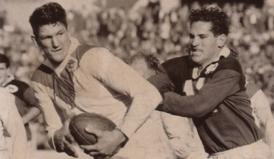 Finally: St George legend Norm Provan was inducted as a rugby league Immortal on Wednesday night. Picture: Supplied