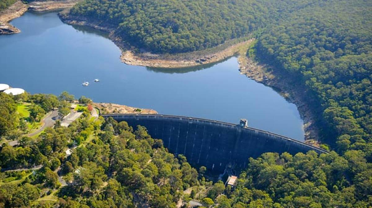 The go-ahead has been given for two coal mines under Woronora Dam. Picture: WaterNSW