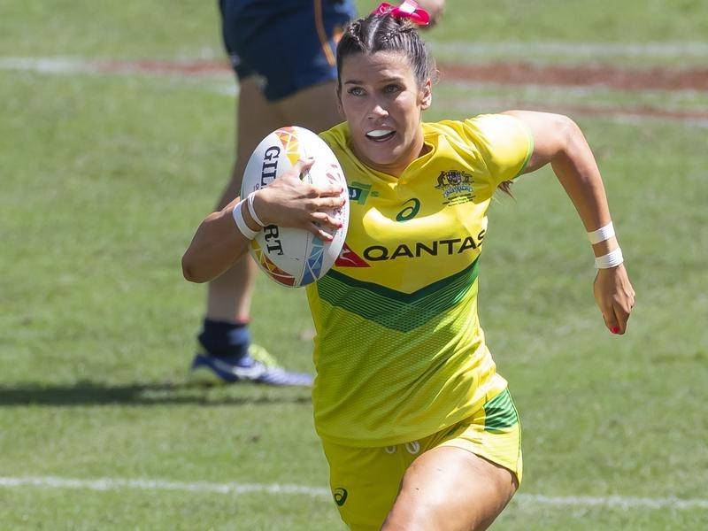 Charlotte Caslick admitted to nerves as her NRLW debut with the Sydney Roosters nears.