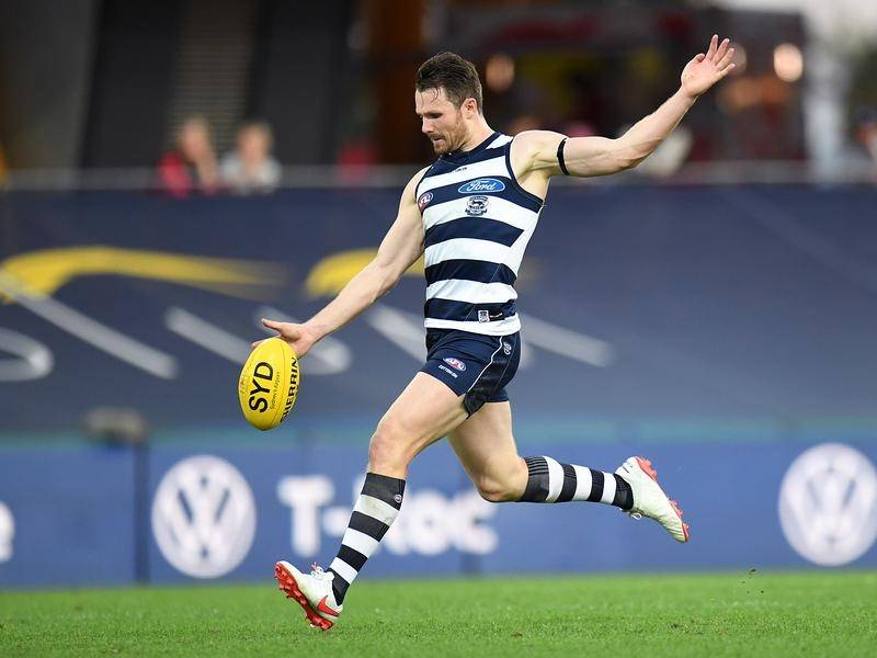 The versatility of Geelong's Patrick Dangerfield promises to be crucial in an AFL finals campaign.