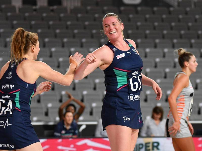 Goalers Tegan Philip and Caitlin Thwaites will both retire at the end of the Super Netball season.