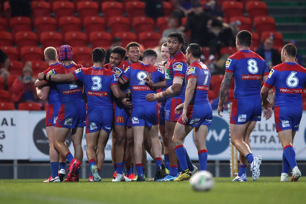 At their very best, the Newcastle Knights are capable of challenging anyone. Photo: Ashley Feder/Getty Images.